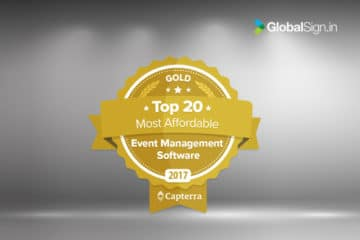 GEVME Ranked #3 for Affordable Event Management Software