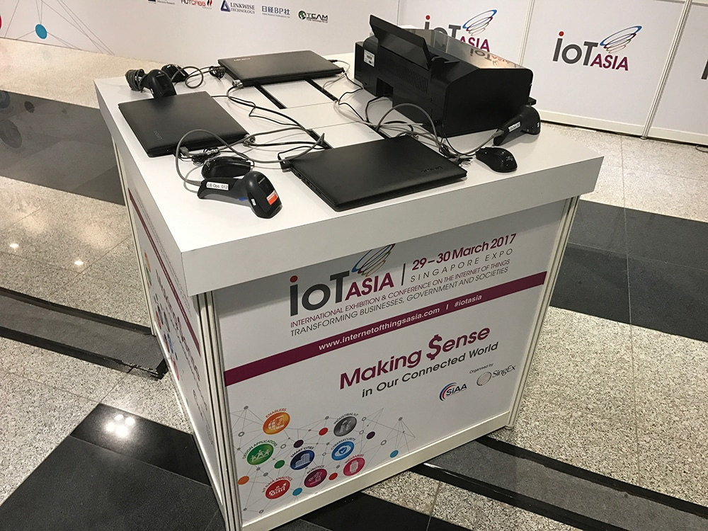 IoT Asia 2017 powered by GEVME Globalsignin